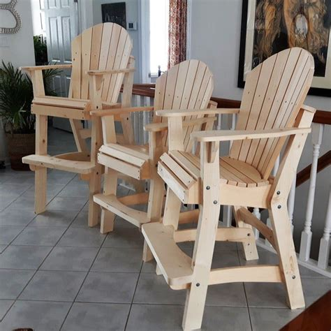 Tall Adirondack Deck Chair Plans