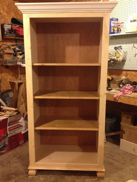 Tall Bookcase Diy Plans