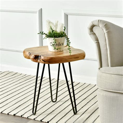 Tall Hairpin Side Table