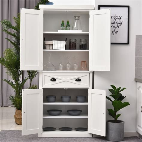 Tall Kitchen Storage Cabinet With Drawers