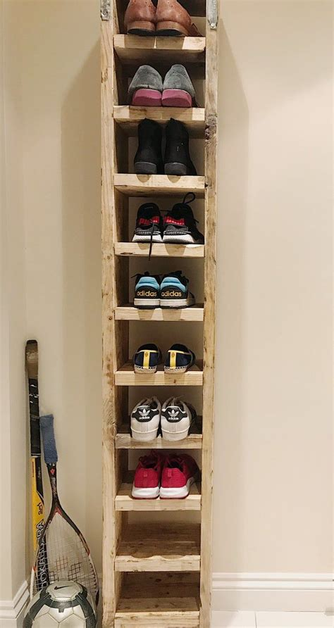 Tall Shoe Rack Diy