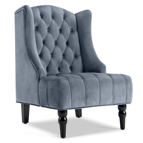 Tall Tufted Accent Chair