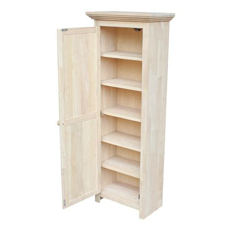 Tall Wood Cabinets With Doors Home Depot