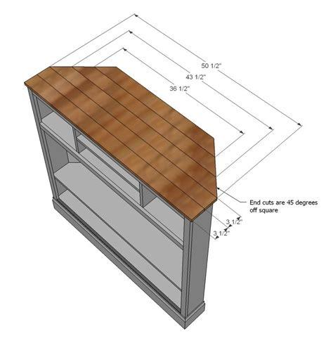 Tall-Corner-Tv-Stand-Plans