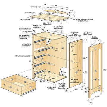 Tall-Dresser-Woodworking-Plans