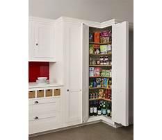 Best Tall corner kitchen cabinet