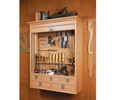 Best Tambour tool cabinet plans