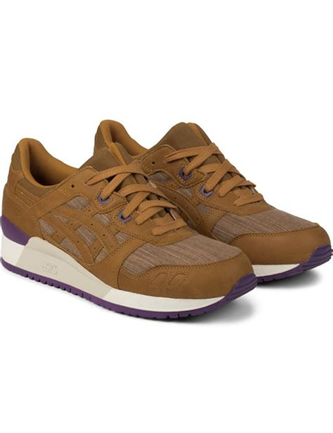 Tan Asics Sneakers