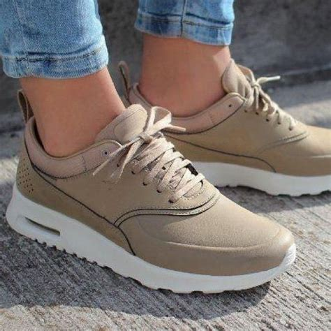 Tan Nike Sneakers Womens