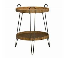 Best Tan bamboo end table