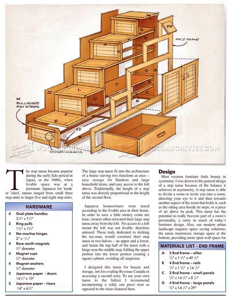 Tansu-Cabinet-Plans