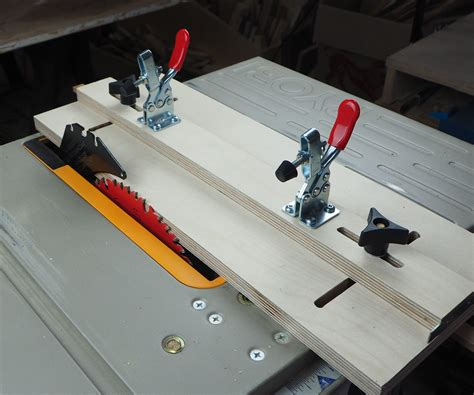 Tapered Jig Table Saw