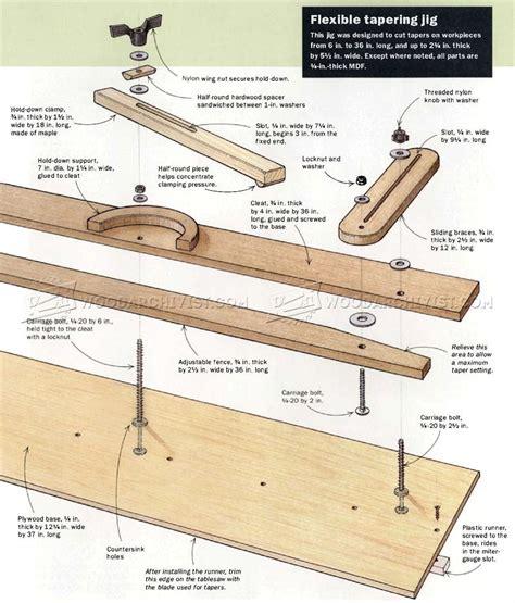 Tapering-Jig-Plans