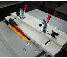 Best Tapering jig table saw plans