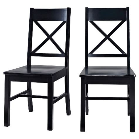 Target Antique Black Dining Chairs