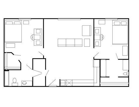 Tarleton State University Housing Floor Plans