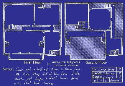 Tatooine House Plans