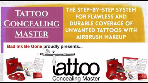 [click]tattoo Concealing Master.