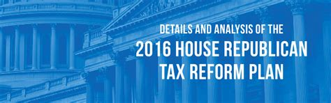 Taxfoundationorg House Republican Tax Plan