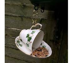 Best Tea cup bird feeders handmade