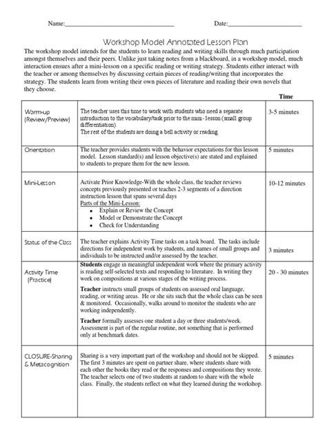 Teachers-College-Writing-Workshop-Lesson-Plans
