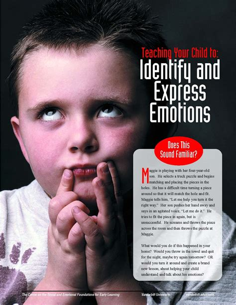 [pdf] Teaching Your Child To Identify And Express Emotions.