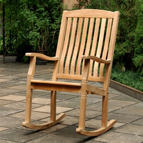 Teak Rocking Chair Blueprints