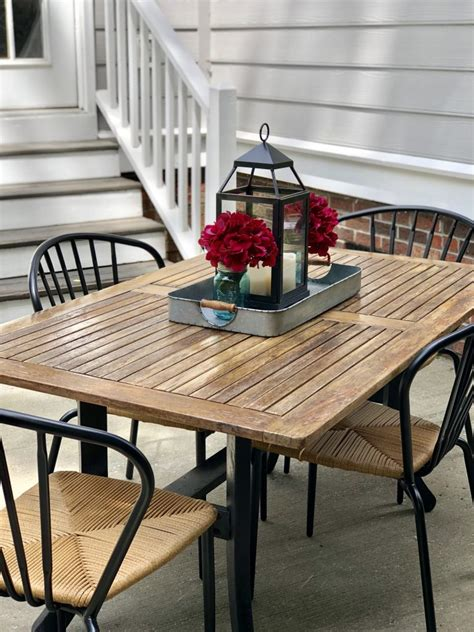 Teak Table Diy