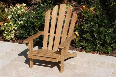 Teak-Adirondack-Chair-Set