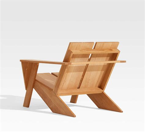 Teak-Adirondack-Chair-With-Ottoman