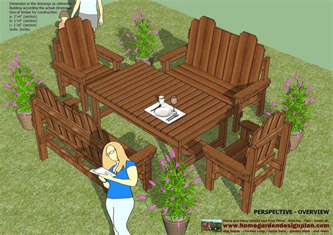 Teak-Patio-Furniture-Plans-Free