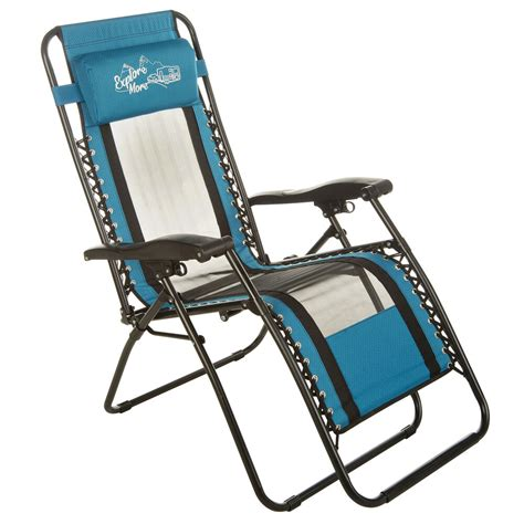 Teal Mesh Recliner Camping World