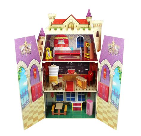 Teamson-Kids-Fancy-Castle-Doll-House-Free-Plans