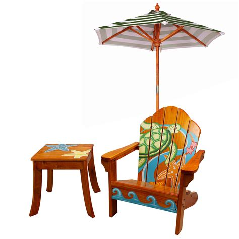 Teamson-Outdoor-Table-Adirondack-Chair