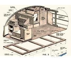 Best Teardrop camper trailer plans how to build