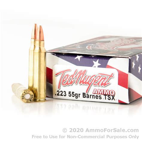 Ted Nugent Ammo 223 And Tul 223 Ammo Stats