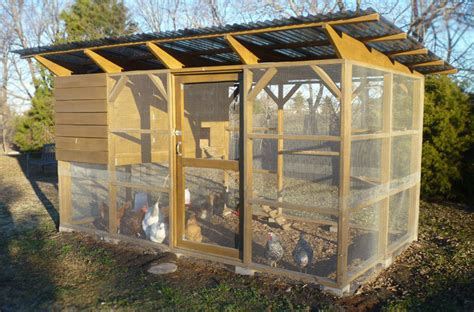 Texas Chicken Coop Plans