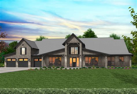Texas-Barn-Style-House-Plans