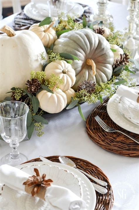 Thanksgiving Table Centerpieces Diy Wedding