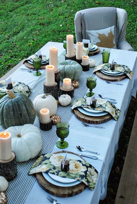 Thanksgiving Table Ideas Pics