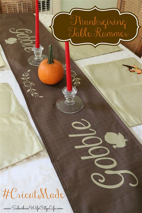 Thanksgiving Table Runner Diy Christmas