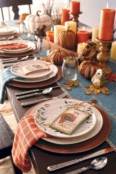 Thanksgiving Table Setting Design