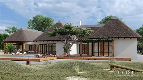 Thatched-House-Plans