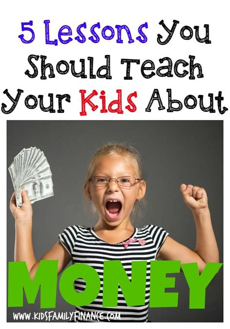 @ The 5 Most Important Money Lessons To Teach Your Kids.