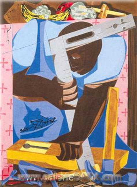 The Cabinet Maker Jacob Lawrence