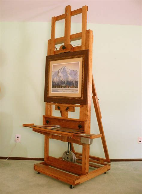 The Cadmium H-frame Easel Plans