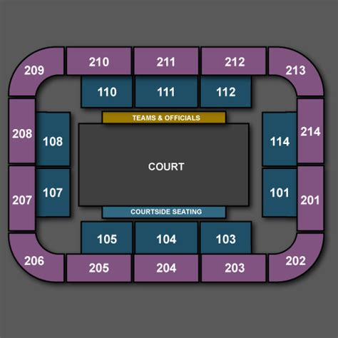 The Copper Box Seating Plan