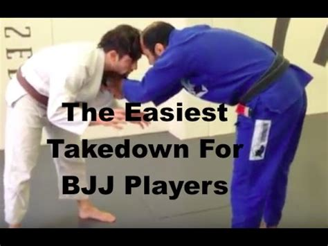 [click]the Easiest Takedown For Bjj Players.