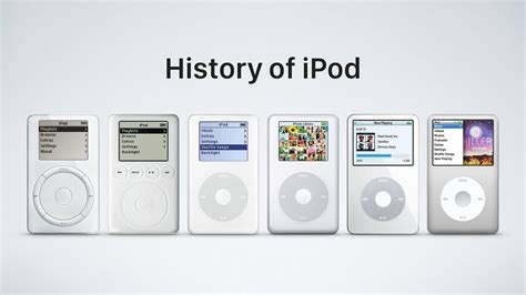 The Evolution Of Ipods  From Their Appearance To The Ipod Video
