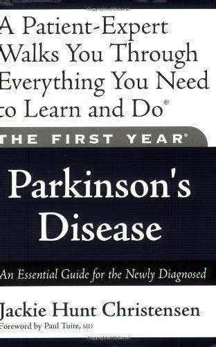 [pdf] The First Year Parkinsons Disease An Essential Guide For